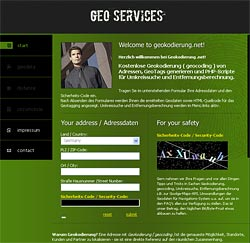 "Website ""Geokodierung.net"""
